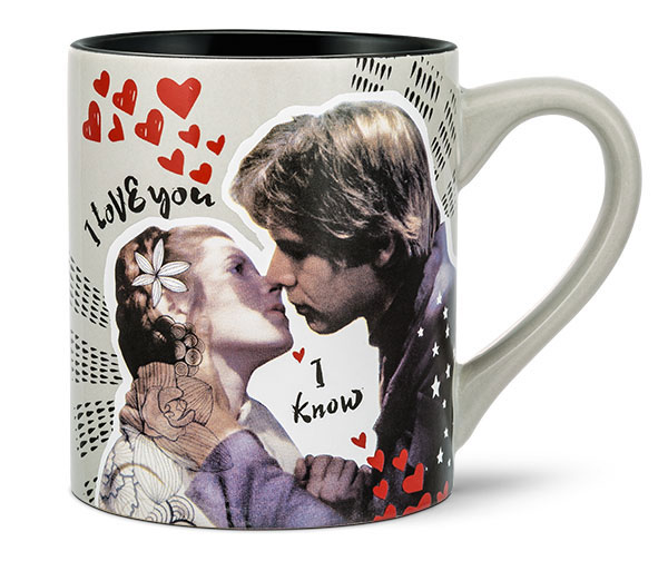 Star Wars I Love You I Know Ceramic Mug