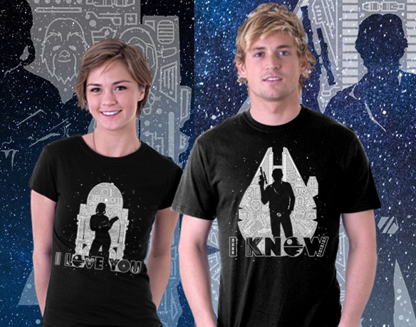 Star Wars I Love You and I Know T-Shirts