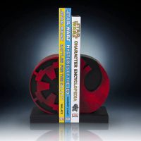 Star Wars Imperial Rebel Insignia Bookends