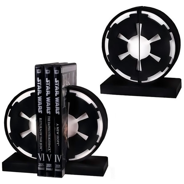Star Wars Imperial Seal Bookends