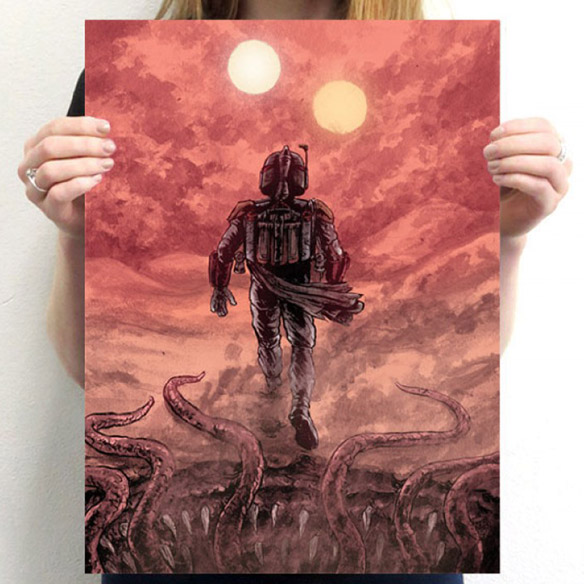 Star Wars Indigestible Poster