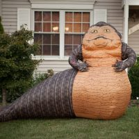 Star Wars Jabba the Hutt Inflatable