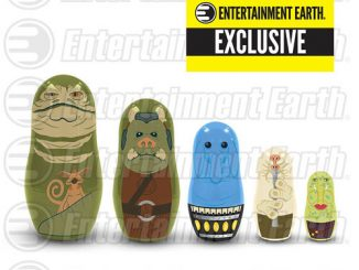 Star Wars Jabbas Palace Nesting Dolls