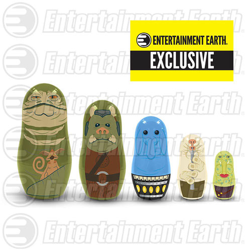 Star Wars Jabba's Palace Nesting Dolls