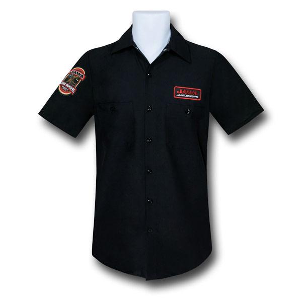 Star Wars Jawa Junk Removal Button Shirt
