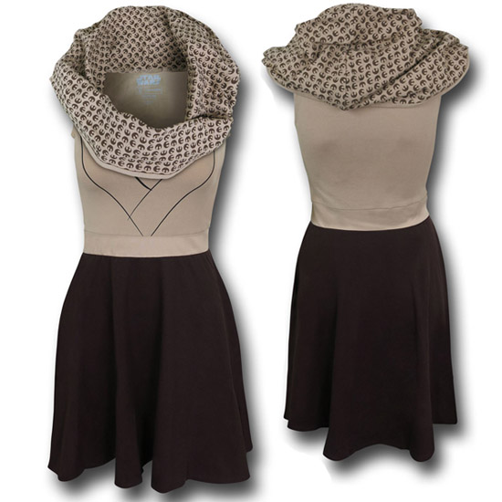 Star Wars Jedi Cowl Dress 2