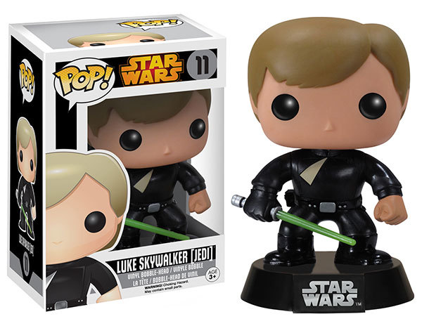 Star Wars Jedi Luke Skywalker Pop Vinyl Bobble Head