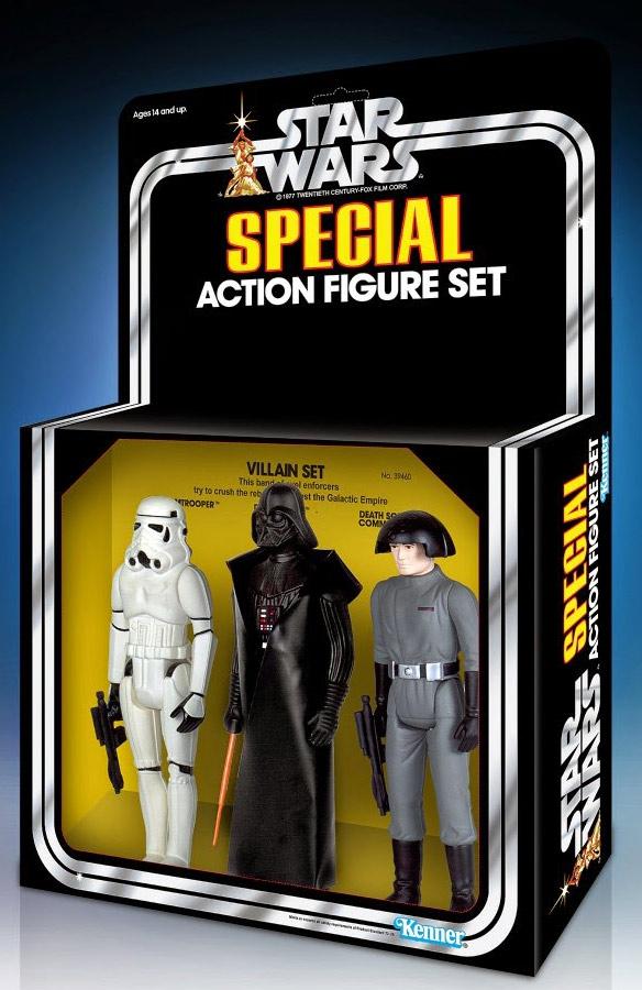 Star Wars Jumbo Retro Action Figure Set: Villains