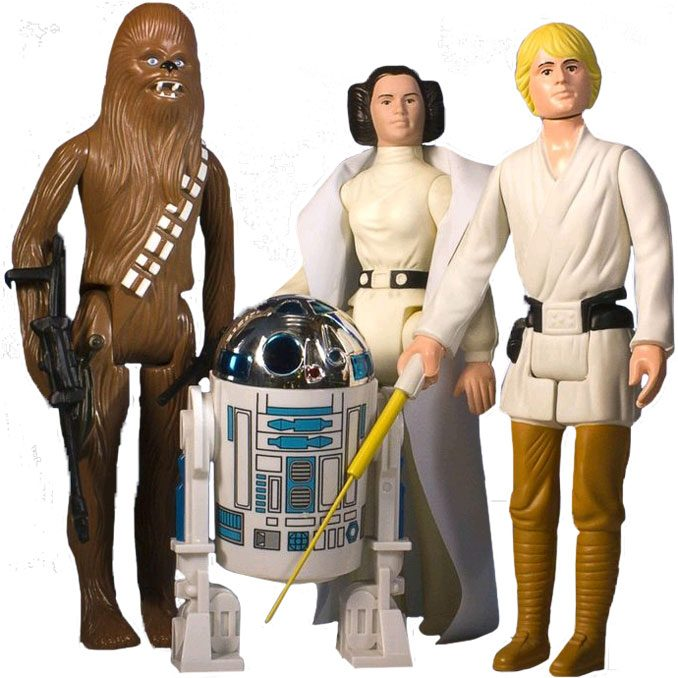 Star Wars Jumbo Vintage Kenner Action Figures