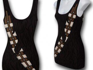 Star Wars Juniors Chewbacca Costume Tank Top