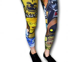 Star Wars Kawaii Womens Leggings