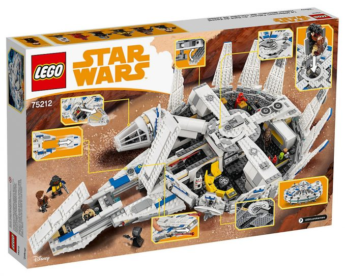 Star Wars Kessel Run Millennium Falcon LEGO Set 75212