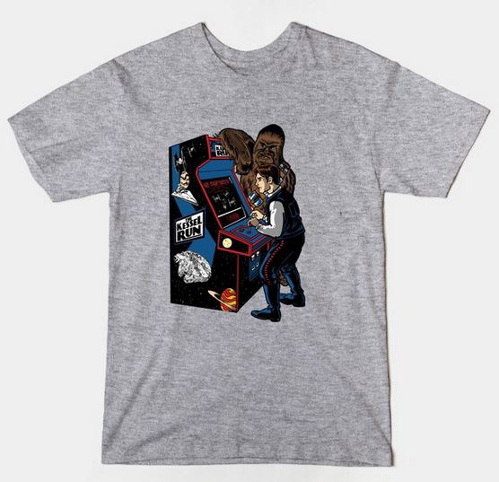 Star Wars The Kessel Run Video Game T-Shirt