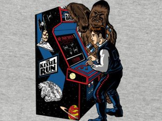 Star Wars The Kessel Run Video Game T-Shirt