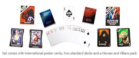 Star Wars LED Poker Set
