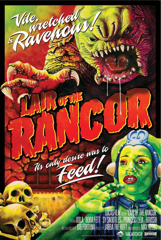 Star Wars Lair of the Rancor Lithograph