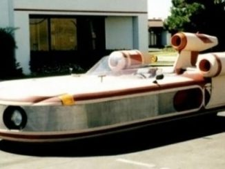 Star Wars Landspeeder Replica