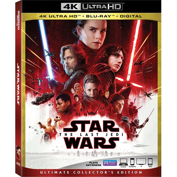 Star Wars: The Last Jedi 4K Ultra HD Blu-ray