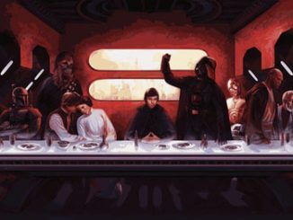Star Wars Last Supper T-Shirt