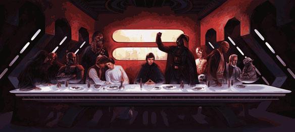Star Wars Last Supper T-Shirt