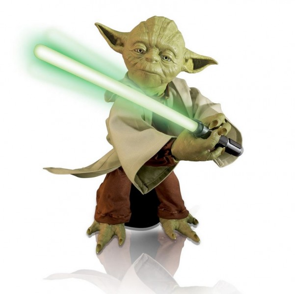 Star Wars Legendary Jedi Master Yoda Interactive Jedi Trainer