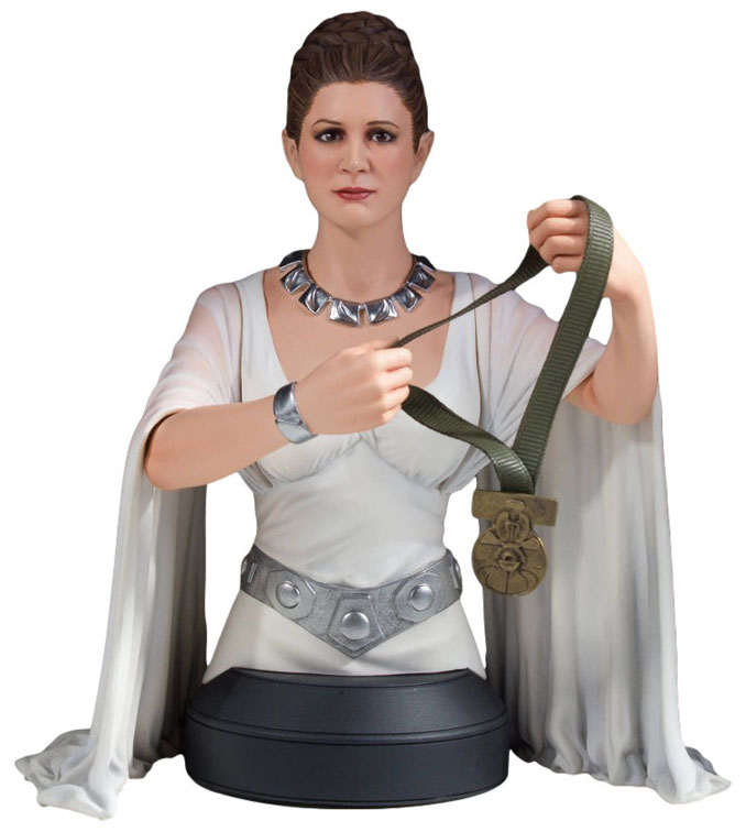 Star Wars Leia Hero of Yavin Mini-Bust