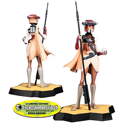 Star Wars Leia in Boushh Disguise Maquette