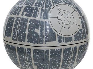 Star Wars Light Up Death Star Beach Ball
