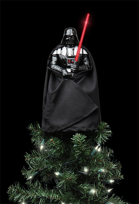 star wars lighted darth vader tree topper. Black Bedroom Furniture Sets. Home Design Ideas