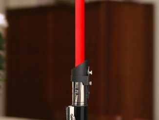 Star Wars Lightsaber Candlestick