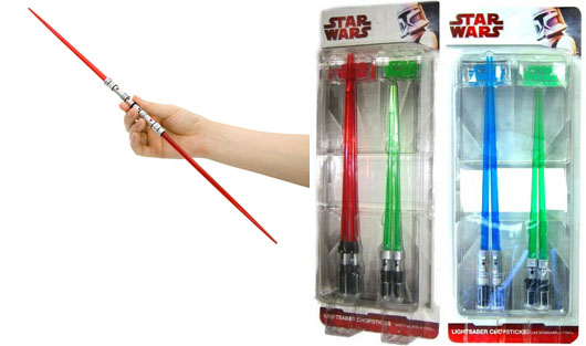 Star Wars Lightsaber Chopsticks Sets