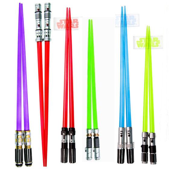 Star Wars Lightsaber Chopsticks Set