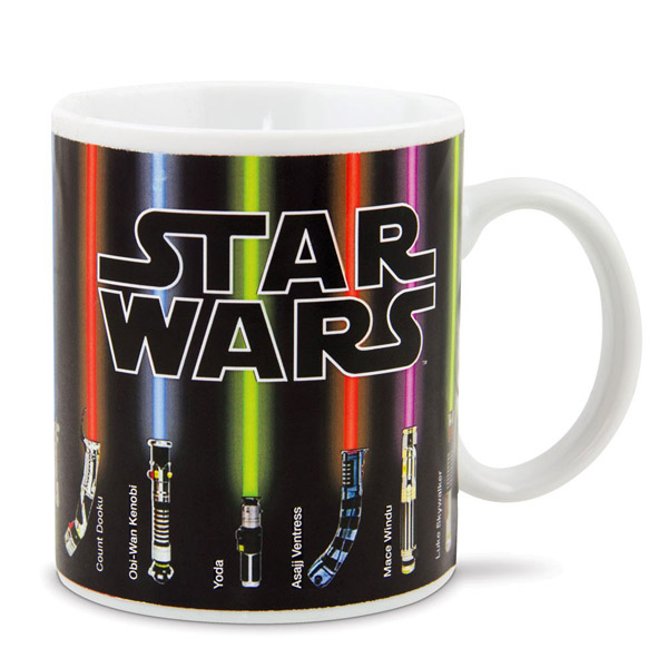 Star Wars Lightsaber Heat-Changing Mug