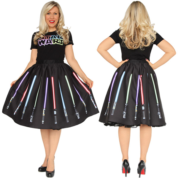 Star Wars Lightsaber Skirt