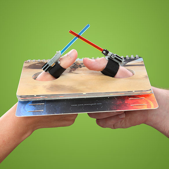 StStar Wars Lightsaber Thumb Wrestling Book