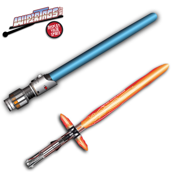 Star Wars Lightsaber Wiper Blade Covers
