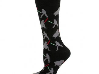 Star Wars Lightsabers Dress Socks