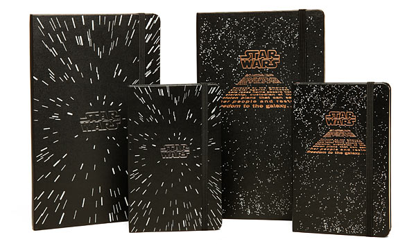 Star Wars Limited Edition Moleskine Notebooks