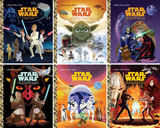 Star Wars Little Golden Book Library 1