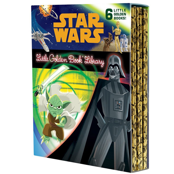Star Wars Little Golden Book Library