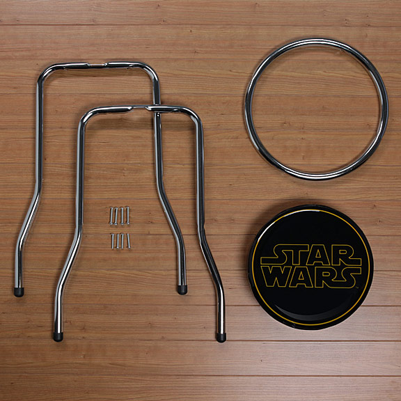 Star Wars Logo Bar Stool