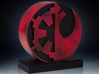 Star Wars Logo Bookend Statue
