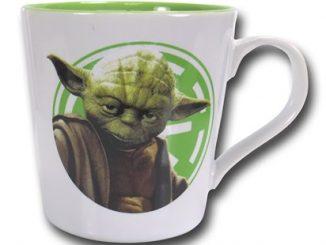 Star Wars Logo Rim Yoda 12oz Ceramic Mug