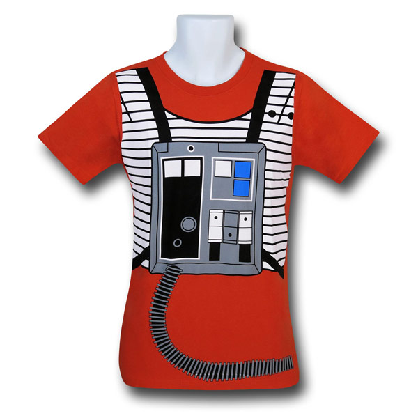 Star Wars Luke Flight Suit 30 Single Shirt