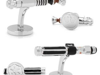 Star Wars Luke Skywalker vs. Darth Vader Lightsaber Cufflinks