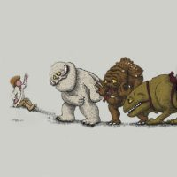 Star Wars Luke and Where the Wild Things Are T-Shirt