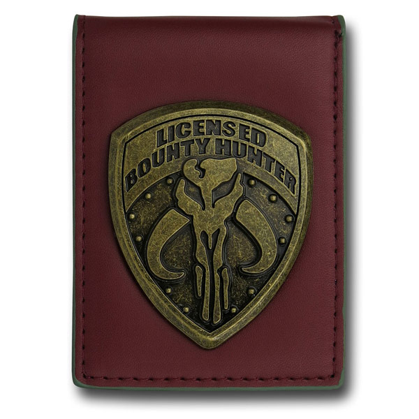 Star Wars Mandalorian Badge Credit Card Wallet
