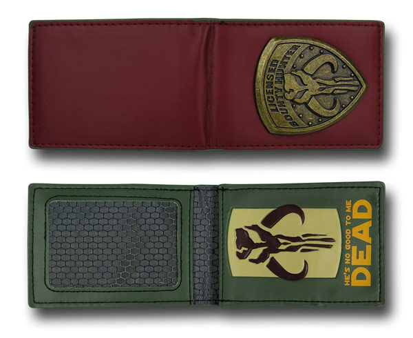 Star Wars Mandalorian Badge Wallet