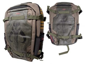 Star Wars Mandalorian Built Up Backpack