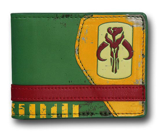 Star Wars Mandalorian Symbol Bi Fold Wallet